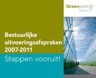 Stappen vooruit! - Greenport Holland