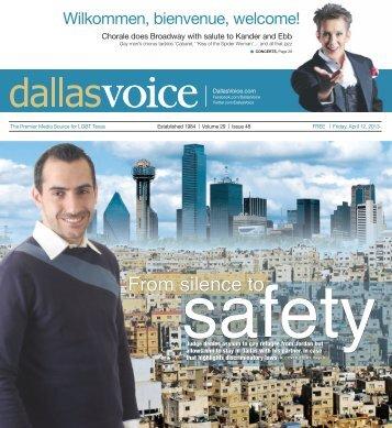 04-12-2013 - Dallas Voice