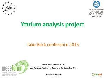 Yttrium analysis project - Asekol