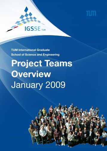 Project Teams Overview January 2009