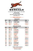Cincinnati Bengals 2009 Media Guide.indb - Bengals Home - Page 2