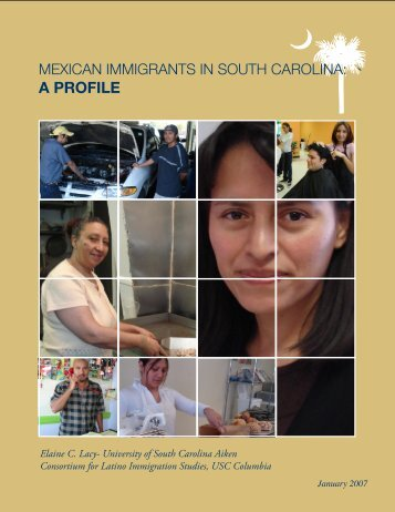 Mexican Immigrants in South Carolina: A Profile - Arnold School of ...