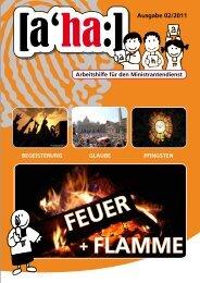 feuer und flamme - Fachstelle Ministranten