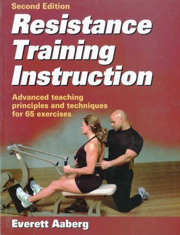 View PDF - Resistance Training Instruction Book - Gopher ...