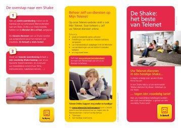 De Shake: het beste van Telenet - Klantenservice