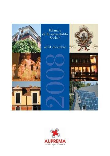 Bilancio di Responsabilità Sociale al 31 dicembre - Uniabita