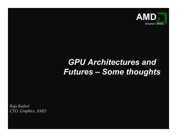 Raja Koduri, AMD