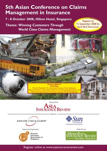 5th Asian Conference on Claims Management in Insurance