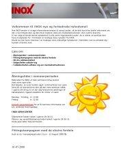 01-07-2008 Velkommen til INOX nye og forbedrede nyhedsmail ...