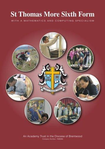 St Thomas More Sixth Form - St Thomas More High School