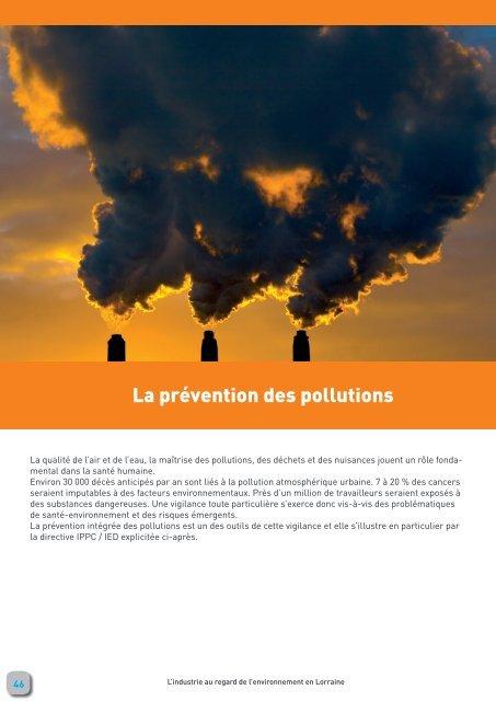 La prévention des pollutions - Webissimo