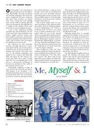 Me, Myself & I - Arts & Activities Magazine