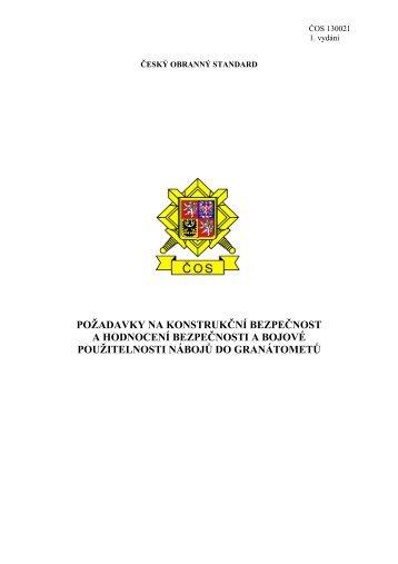 130021 - Odbor obranné standardizace