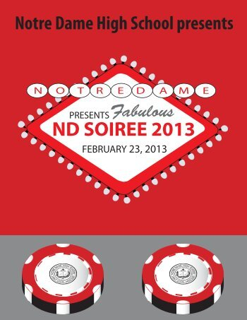 to view the catalog online! - Notre Dame High School