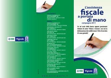 fiscale - BCC Vignole e Montagna Pistoiese