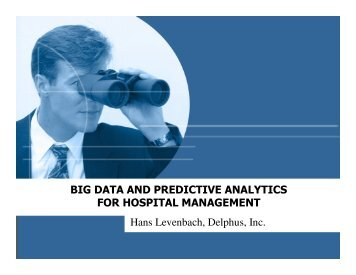 BIG DATA AND PREDICTIVE ANALYTICS FOR HOSPITAL ...