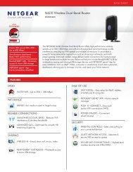 N600 Wireless Dual Band Router - Netgear