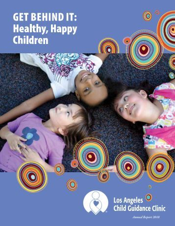 Annual Report 2010 - Los Angeles Child Guidance Clinic