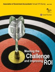 Annual CFO Survey - National Association of State Auditors ...