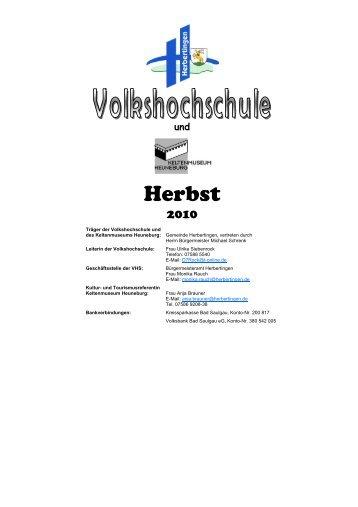 Workshop - Herbertingen
