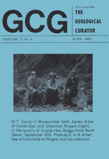 Number 4 - Geological Curators Group