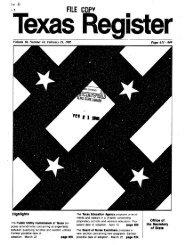 Texas Register V.10 No. 14 - The Portal to Texas History