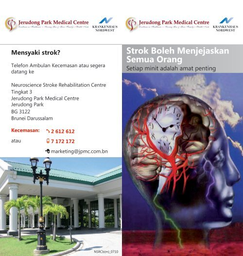 Strok Boleh Menjejaskan Semua Orang - Jerudong Park Medical ...