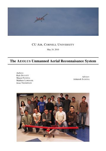 Cornell University - AUVSI Seafarer Chapter