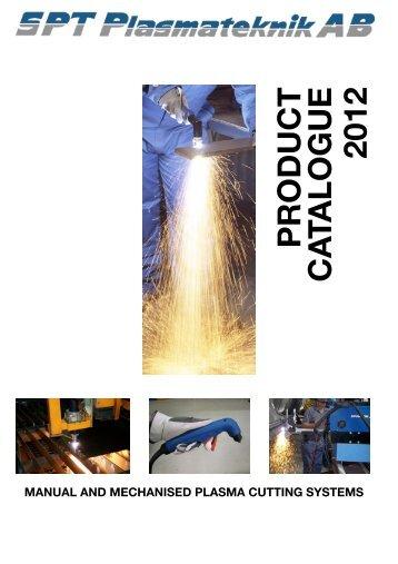 Plasma 2012 Eng 121106 - SPT Plasmateknik AB