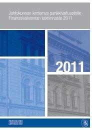 2011 - Finanssivalvonta