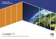 Isoclad PIR Standard Panel Specification