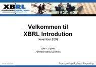 Præsentation - XBRL Denmark