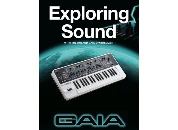 GAIA Exploring Sound (PDF) - Roland Corporation Australia
