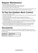 Outdoor Bark Control - PetSafe - Page 7