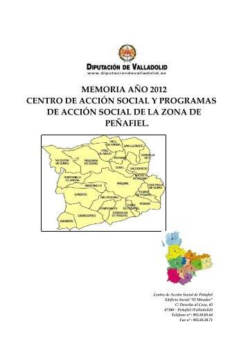 Memoria Ceas Peñafiel 2012 - Diputación de Valladolid