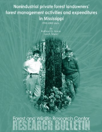 Download - Forest and Wildlife Research Center - Mississippi State ...