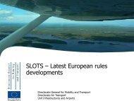 SLOTS – Latest European Rules Developments (357 KB ... - eBace