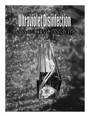 Ultraviolet Disinfection Horizontal