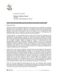 Madame Catherine Crouzat OPUS 31 Bp 35505 - 34071 Montpellier ...