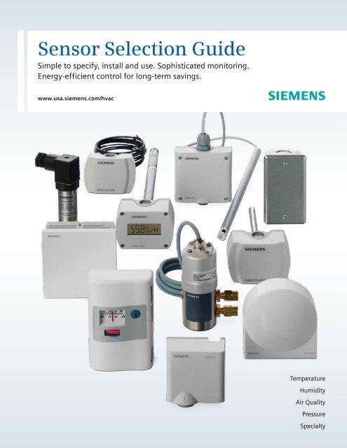 Pipe Strap-on Siemens Building Technologies Siemens QAD2032U Temperature Sensor