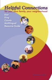 English Multilingual Guide - Parks and Community ... - City of Kirkland