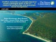 pdf, 8718k - Marine Conservation Agreements