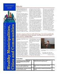 Vol. 2, Number 9 June 2007 (english) - BVSDE - PAHO/WHO