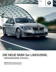 DIE NEUE BMW er LIMOUSINE. - BMW.com