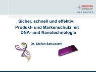 ihide – DNA Markierungssystem - Security-Forum