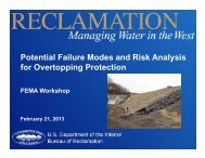 Potential Failure Modes and Risk Analysis for Overtopping Protection