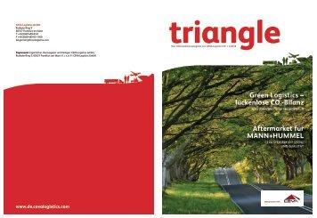 Triangle-Ausgabe 2/2010 - CEVA Logistics