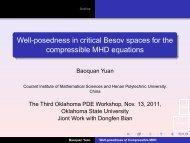 Baoquan Yuan - Oklahoma State University