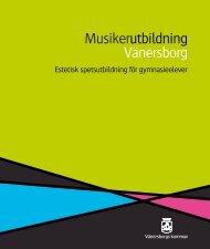 Broschyren som lågupplöst pdf. - Vänersborgs kommun