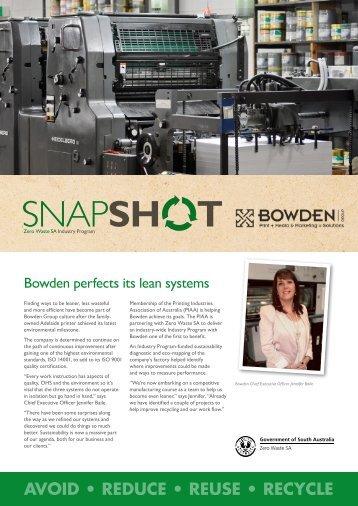 Bowden Group - Zero Waste SA - SA.Gov.au